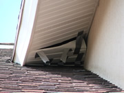 Allstate Animal Control repairs soffits to prevent animal access